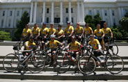 Group of Riders in front of Capitol